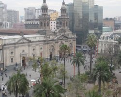 Most loved Cities, Santiago, Chile, Plaza de Armas view