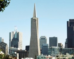 Most loved Cities, San Francisco, California, TransAmerica Pyram building