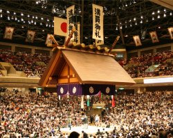 Most loved Cities, Tokyo, Japan, Ryogoku Kokugikan Stadium, Competition day