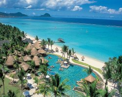 Babel Tower Holiday, Mauritius, Beach resort view
