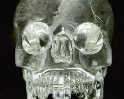 Mystery Holiday, Crystal Skull, Front View