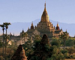 Mystic Holiday, Myanmar, Asia, Temples of Bagan, Temple overview