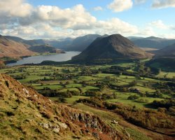 National Park Holiday, Lake District National Park, England, Panorama scenery