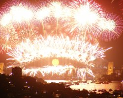 New Year Destinations, Sydney, Australia, City harbour new year fireworks