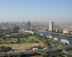 New Year Holiday, Cairo, Egypt, City overview