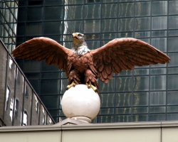 New York, U.S.A., Grand Central Station Eagle
