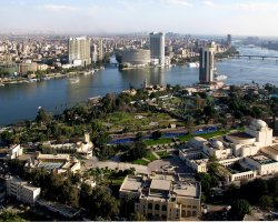 November Holiday, Cairo, Egypt, City panorama