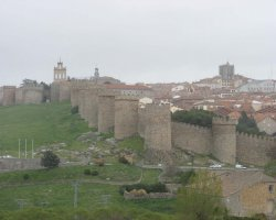 Old City Walls, Avila, Spain, Overview