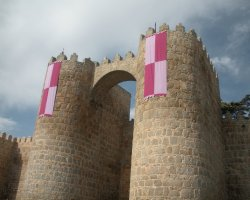 Old City Walls, Avila, Spain, Tower view