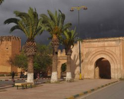 Old City Walls, Taroudant, Morocco, Cloudy day