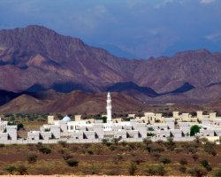 Tourist Attraction, Muscat, Oman, Mountain side of the city