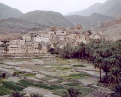 Tourist Attraction, Bilad Sayt, Oman, Stepped agricultural terraces
