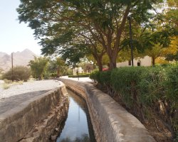 Tourist Attraction, Nizwa, Oman, Falaj Daris system