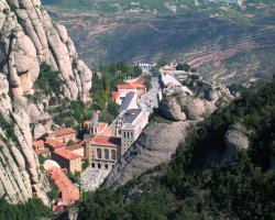 Optional Excursion, Montserrat Monastery, Spain, Panoramic view
