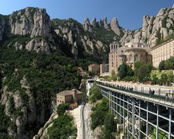 Optional Excursion, Montserrat Monastery, Spain, Overview