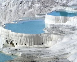 Pamukkale, Turkey, Hot springs