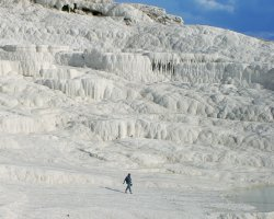 Pamukkale, Turkey, Hot springs overview