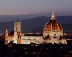 Paradise Destination, Florence, Italy, Duomo from Michelangelo hill