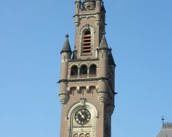 The Hague, Netherlands, Peace Palace, Clock Tower