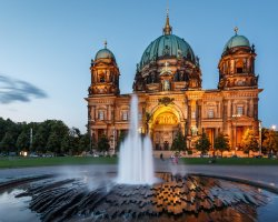 Perfect City Break Holiday, Germany, Berlin, Berlin Cathedral facade view