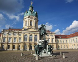 Perfect City Break Holiday, Germany, Berlin, Charlottenburg Palace interior court monument