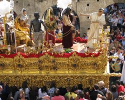 Perfect spring Holiday, Sevilla, Semana Santa, Allegorical Car