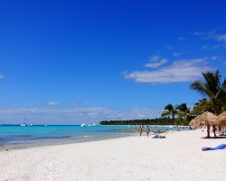 Perfect Summer Destination, Isla Saona, Dominican Republic, Beach overview