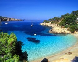 Perfect Summer Holiday Destinations, Mallorca, Remote bay overview