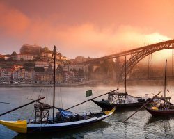 Perfect Summer Holiday Destinations, Porto, City bridge by sunset