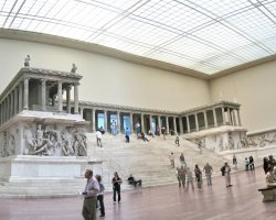 Pergamon Museum, Berlin, Germany, Pergamon altar hall