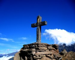 Colca Canyon, Peru, America, Condor Cross