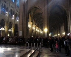 Pilgrimage Protocol, Notre Dame Cathedral, Paris, France, Religious procession