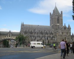 Pilgrimage Protocol, Christ Church Cathedral, Ireland, Entrance arch
