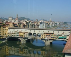 Ponte Vecchio, Firenze, Italy, View from the uffizi
