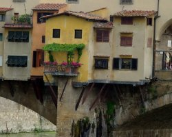 Ponte Vecchio, Firenze, Italy, The hidden balcony