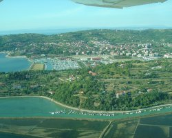 Portoroz, Slovenia, View from above