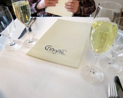 Famous Prague Restaurants, Prague, Czech Republic, Chagall Restaurant menu