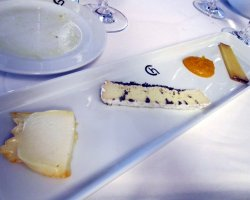 Famous Prague Restaurants, Prague, Czech Republic, Chagall Restaurant Cheese sortiments