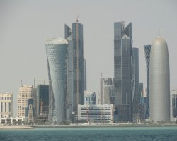 Qatar, UAE, Doha overview