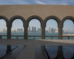 Qatar, UAE, Doha from Museum of Islamic Art