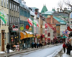 Quebec City, Canada, St. Louis street