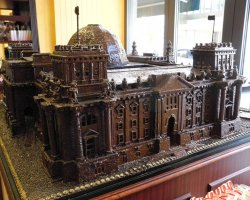 Reichstag, Berlin, Chocolate version