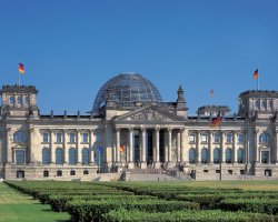 Reichstag, Berlin, Front overview