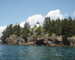 Remote Holiday, Bear Island, Lighthouse view