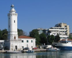 Rimini, Italy, Lighthouse
