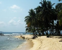 Romantic Holiday, San Blas Islands, Panama, Remote beach