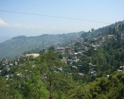 Romantic Holiday, India, Darjeeling panorama