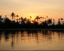 Romantic Holiday, San Blas Islands, Panama, Sunrise