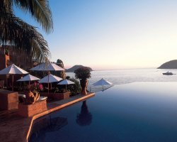 Romantic Luxury Hotel, La Casa Que Canta, Mexico, Panoramic view from a room