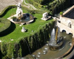 Romantic Luxury Hotel, Villa dEste, Italy, Fountain upview